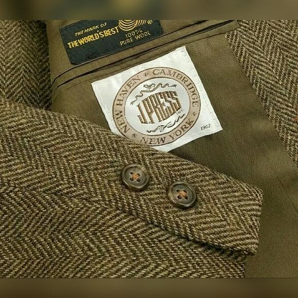 J. Press Other - Vtg J. Press Tweed Herringbone Blazer Wool Jacket
